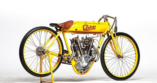 Steve McQueen's Cyclone Motorcycle Could Fetch $750K
