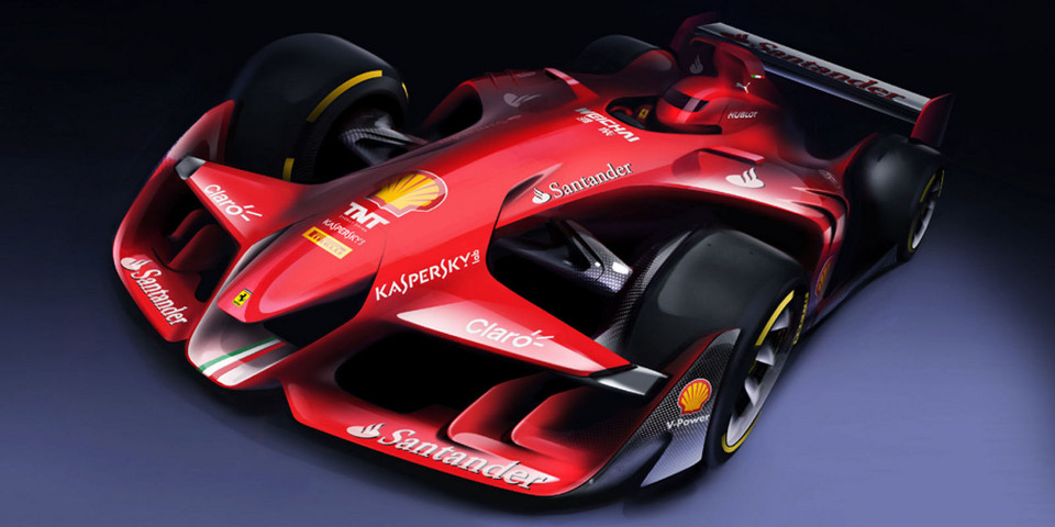 Ferrari F1 Concept: If F1 Was Beautiful Again