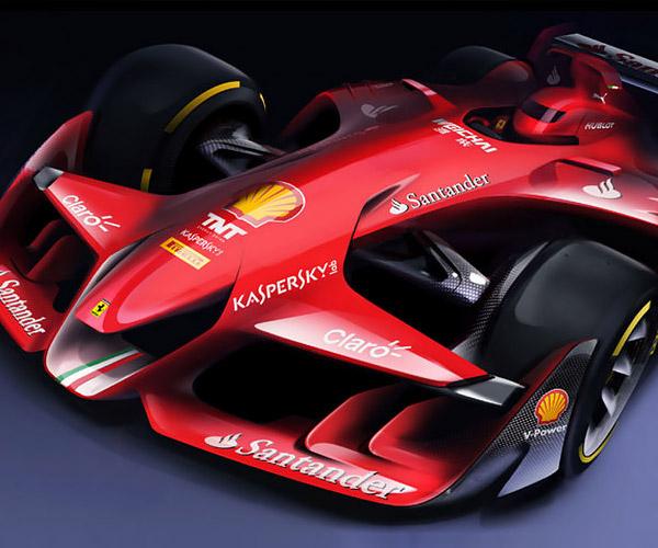 Ferrari F1 Concept: If F1 Was Beautiful Again