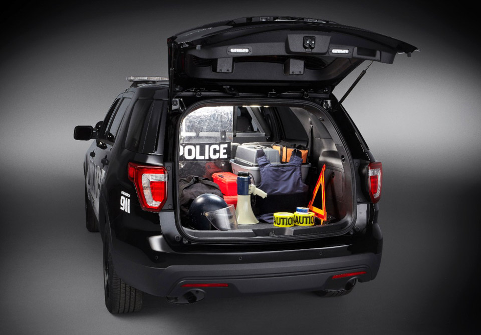 Ford Explorer Police Interceptor Utility Is Here To Serve And | 2017 ...