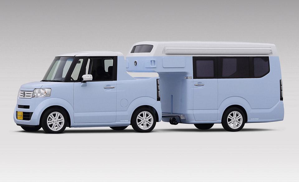 Honda N-TRUCK/N-CAMP is Tiny Towing Tastiness