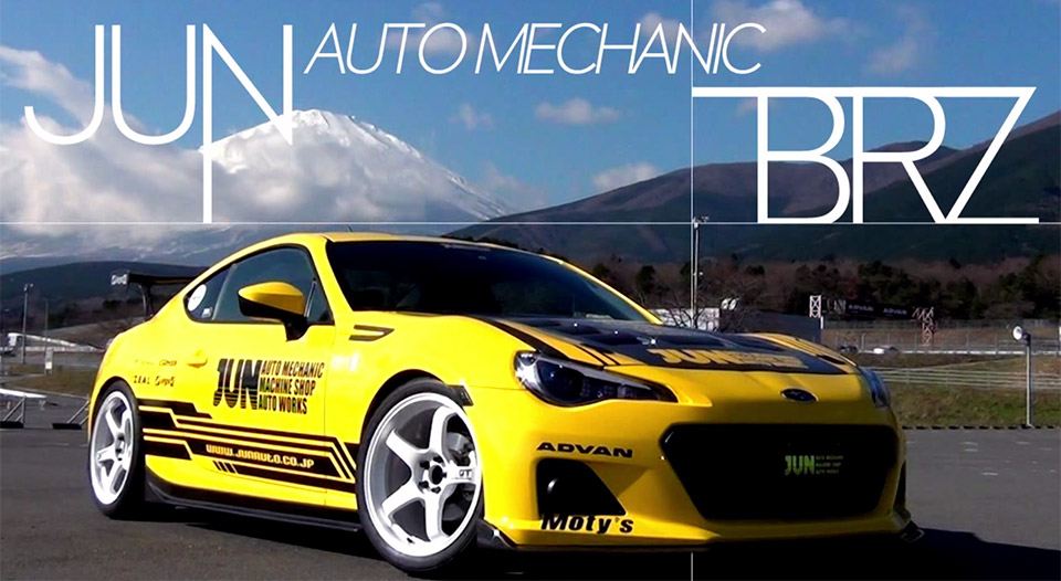 This Custom Subaru BRZ Has a 362hp V8