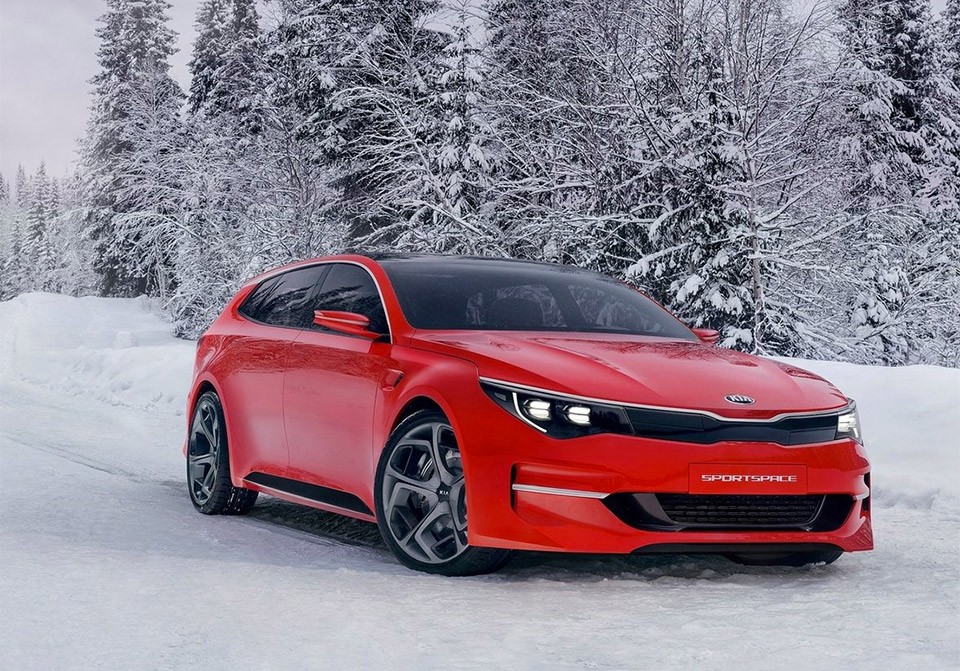 Kia Sportspace Concept Unveiled Ahead of Geneva