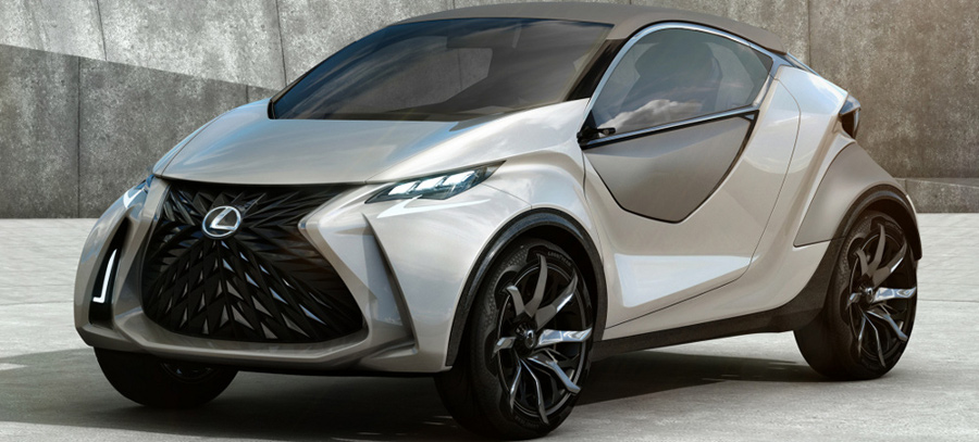Lexus Didn't Hold Back on the LF-SA Concept