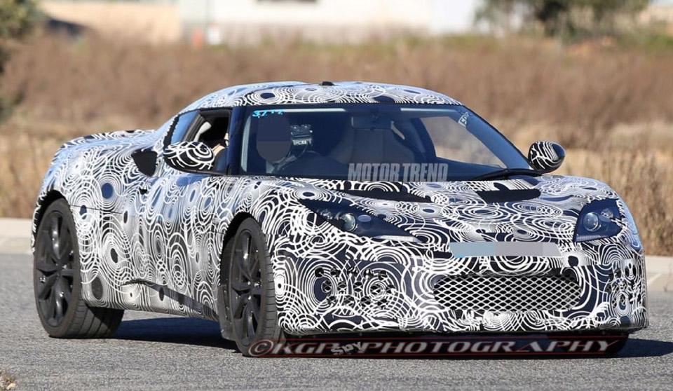 2016 Lotus Evora Prototype Spied in Testing
