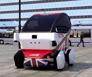 LUTZ Pathfinder is the First Driverless Car for the UK