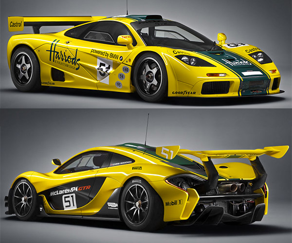 Production Ready McLaren P1 GTR Packs 1000hp