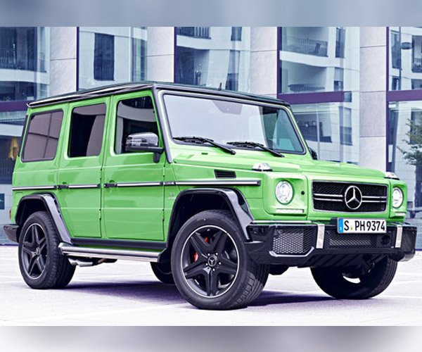 Mercedes-Benz G63 & G65 AMG Crazy Color Edition