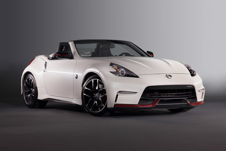 Nissan Shows off NISMO 370Z Roadster Concept