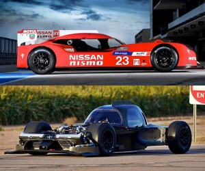 Naked Nissan GT-R LM NISMO: '50s Moon Rover Hot Rod
