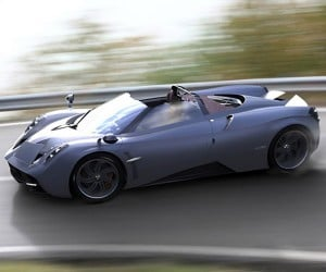 Pagani Huayra Roadster Arriving in 2016