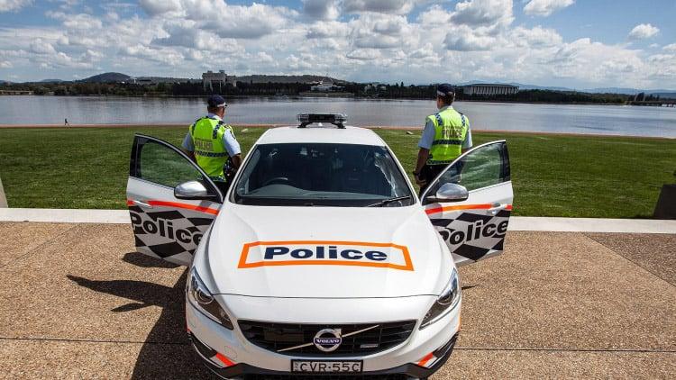 Australia Tries out Volvo S60 Polestar Police Car