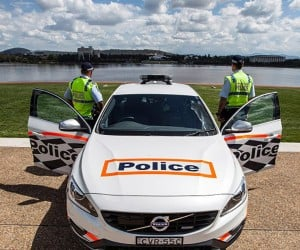 Australia Tries out Volvo S60 Polestar Police Car