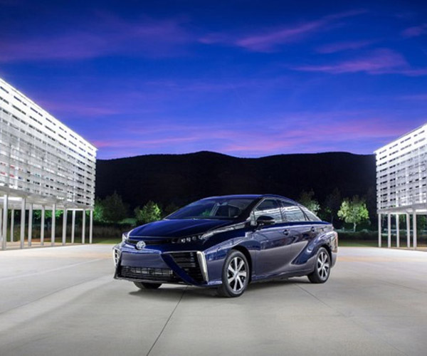 Toyota Mirai Fuel Cell Vehicle Enters Production