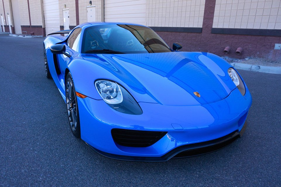 porsche 918 spyder voodoo blue 2017 2018 cars reviews. Black Bedroom Furniture Sets. Home Design Ideas
