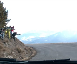 Amazing POV Footage from the Rallye Monte Carlo