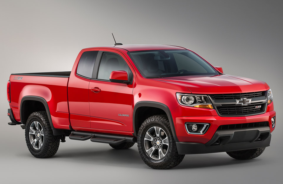 Chevy Colorado Z71 Trail Boss Edition