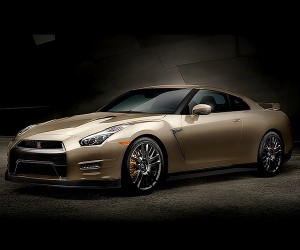 Nissan Unveils 45th Anniv. Gold Edition GT-R