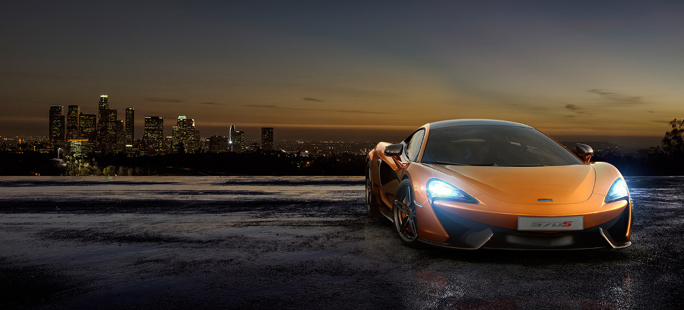 The McLaren 570S Is Instantly Familiar