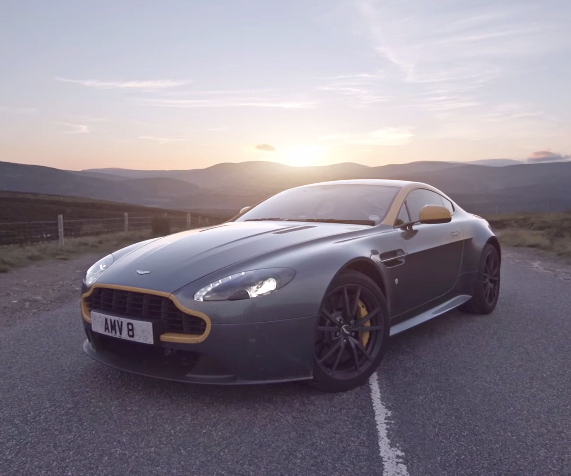 Aston Martin and Scotland's Most Beautiful Road