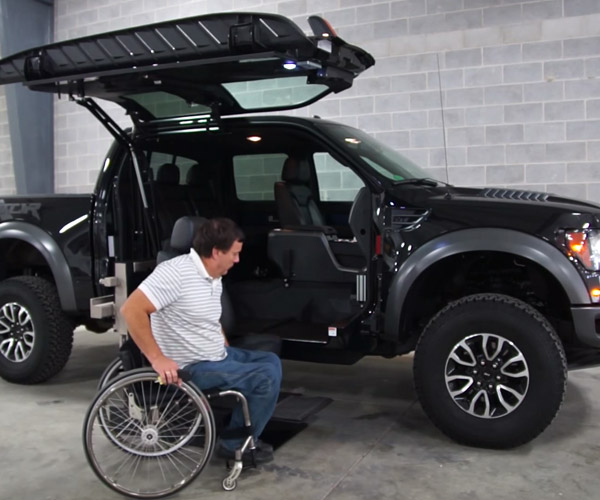 All-Terrain Conversions Makes Raptor Accessible