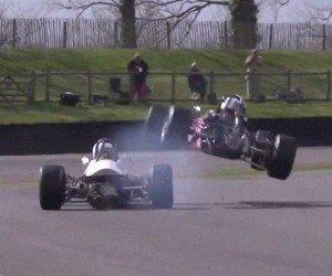 This Is The Funniest Looking Racing Crash Ever