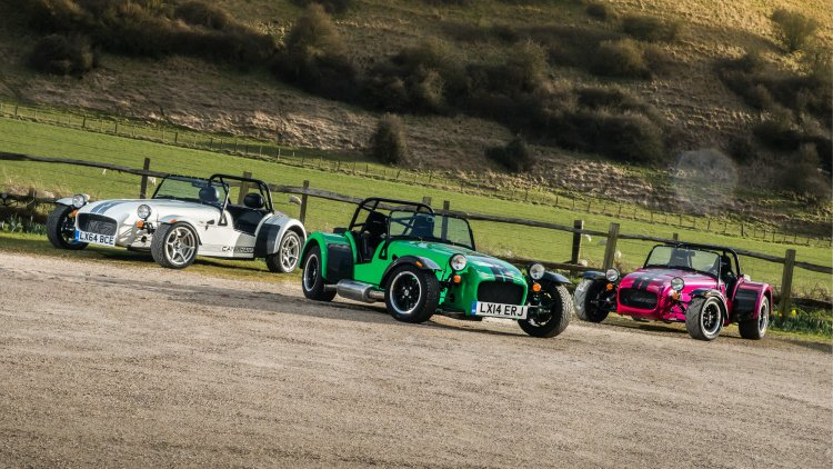 Caterham Unveils New 270, 360, and 420 Seven models