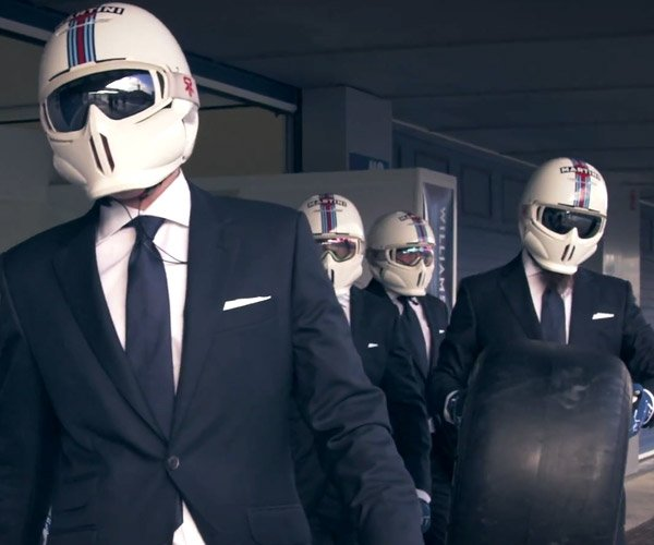 Hackett x Williams Martini: The Coolest Pit Stop Ever