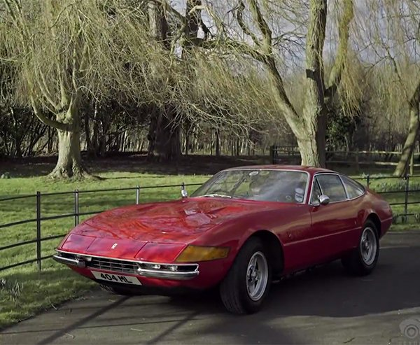 His Daily Driver is a Ferrari 365 GTB/4 Daytona