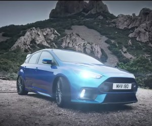 2016 Ford Focus RS Driving Footage