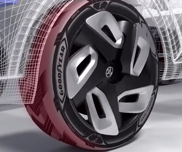 Goodyear Shows Concept Tires That Capture Electricity