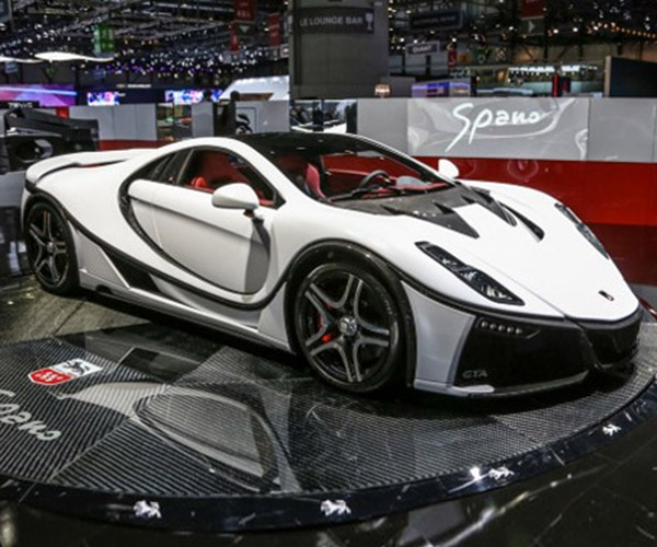 Spania GTA Spano Unveiled in All Its Carbon Fiber Glory