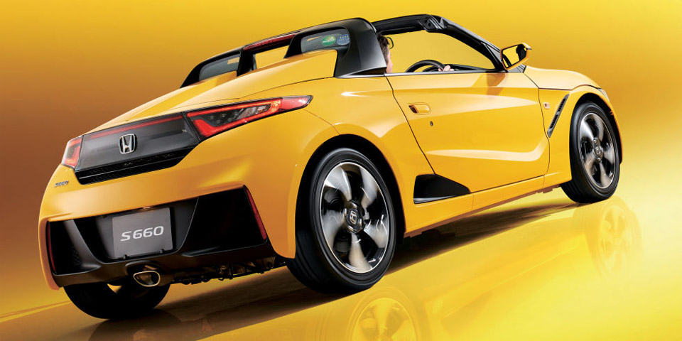 Honda S660 Roadster Launches in Japan