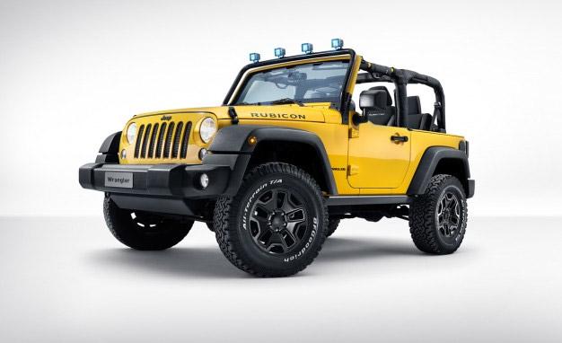 Diesel Jeep Wrangler Rocks Star Heads to Geneva
