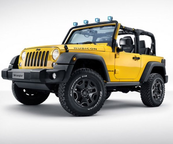 Diesel Jeep Wrangler Rocks Star Heads to Geneva