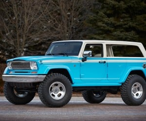 Jeep Chief Concept Pays Tribute to the Cherokee SUV