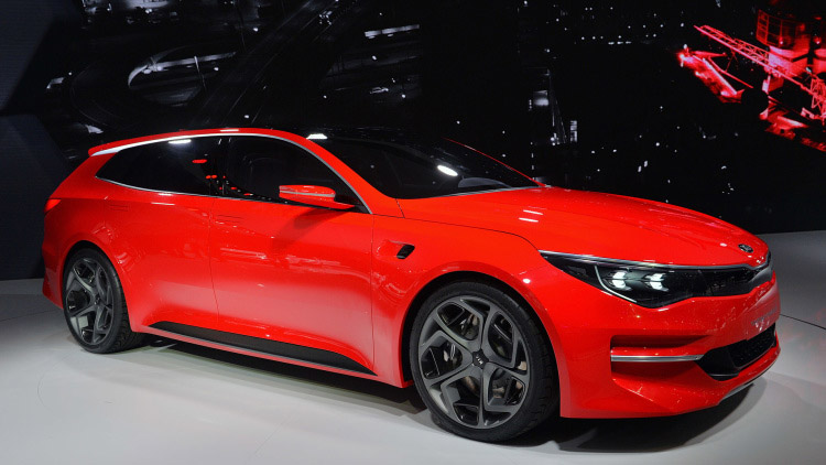 Kia Sportspace Wagon Makes Geneva Debut, and It's Awesome