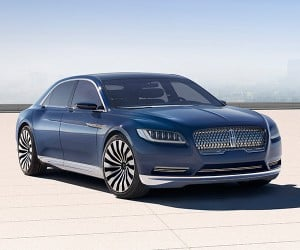 Lincoln Shows Continental Concept, Production in 2016