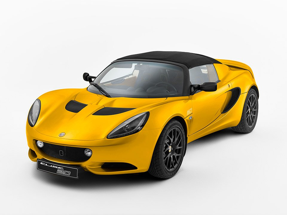 Lotus Elise 20th Anniversary Edition Weighs Less Than a MX-5