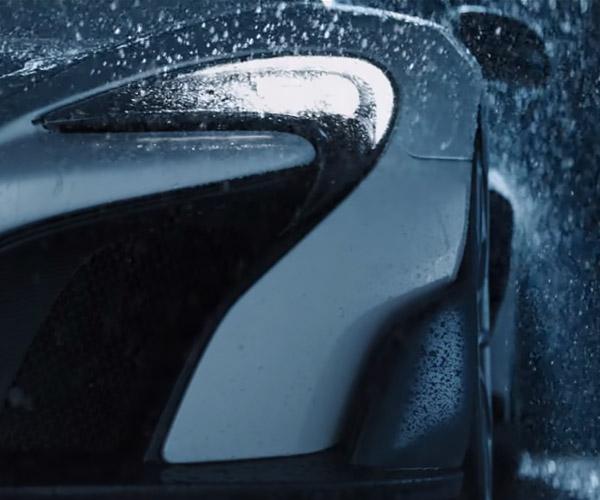A McLaren 675LT Beckons Us in the Rain