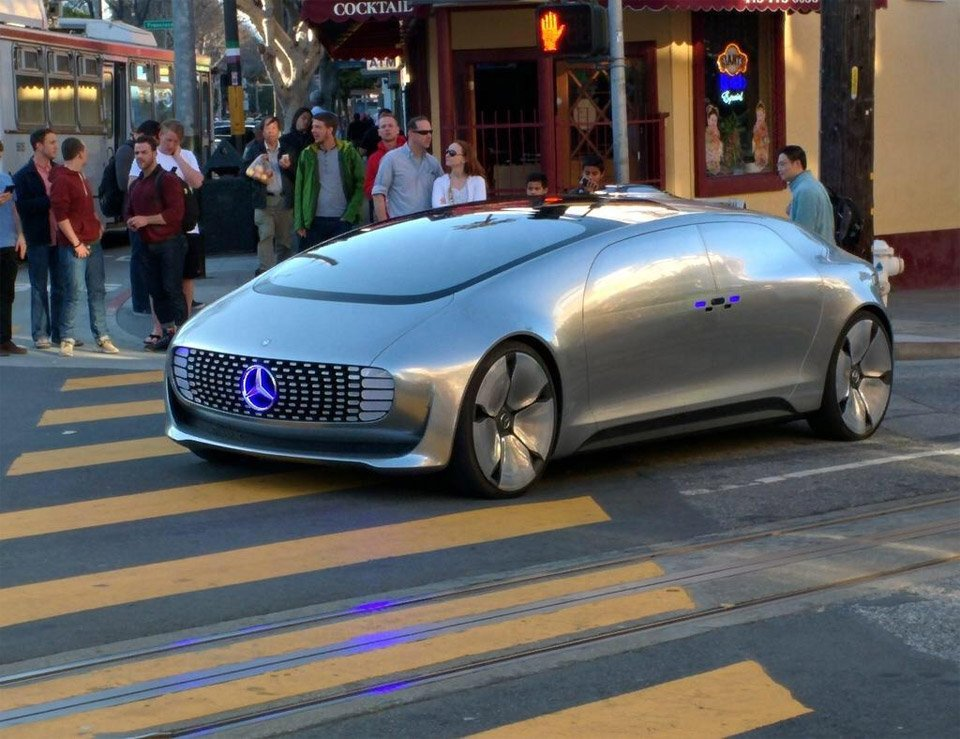Mercedes-Benz Autonomous Concept Spotted in SF