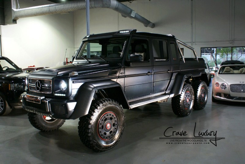 Mercedes benz amg g63 6x6 turns up on ebay 95 octane for Mercedes benz g63 6x6 for sale