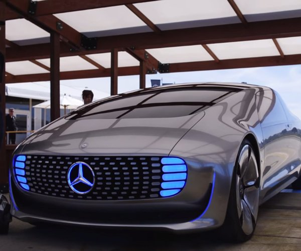 Mercedes-Benz F 015 Press Demo in San Francisco