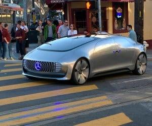 Mercedes-Benz Autonomous Concept Spotted in SF