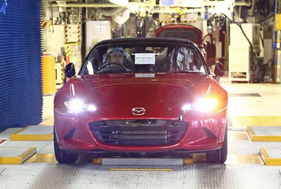2016 Mazda MX-5 Production Has Begun