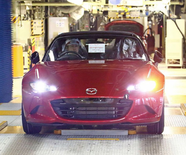 2016 Mazda MX-5 Production Has Begun