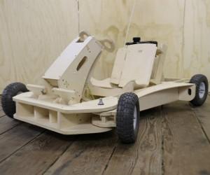 PlyFly Flat Pack Plywood Go-Kart