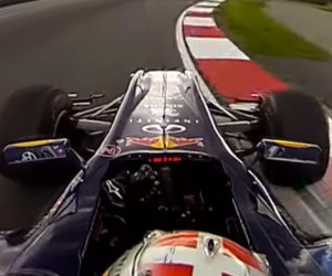 360-degree View of a Red Bull F1 Test Run