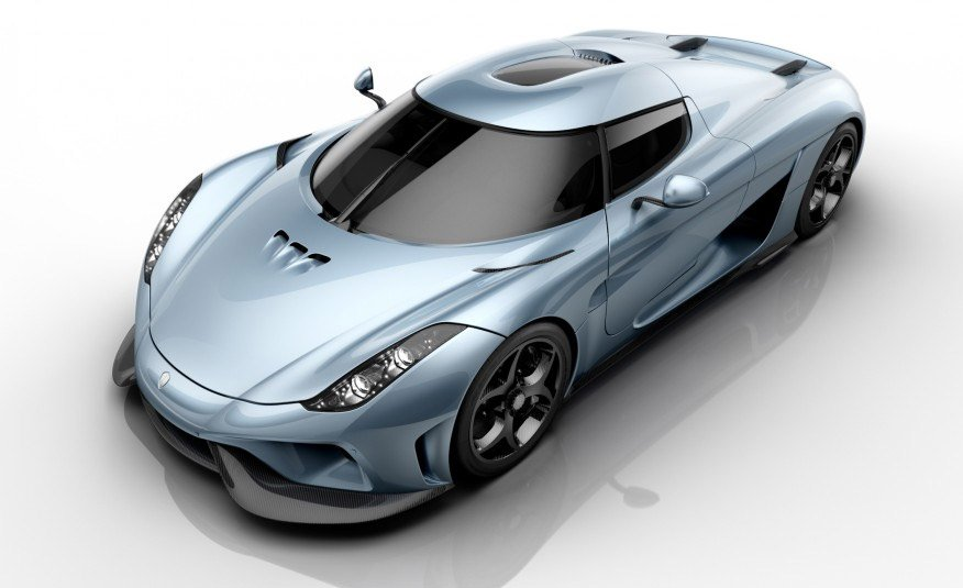 2016 Koenigsegg Regera Rocks 1500hp, Single-Speed Trans
