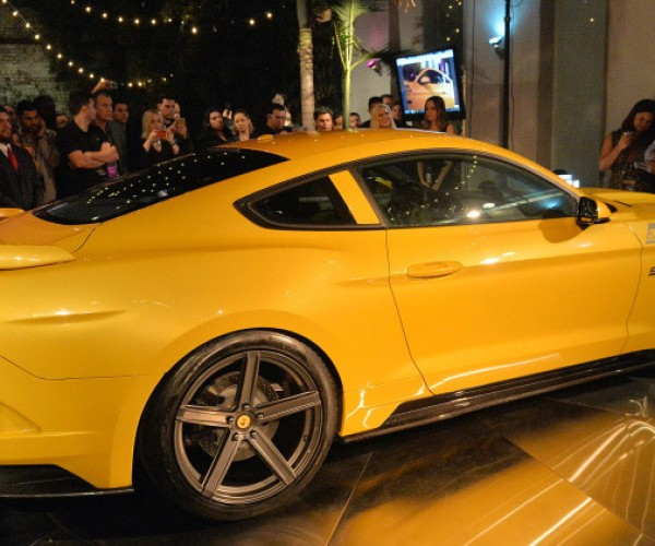 Supercharged Mustang Yellow: 2015 Saleen 302 Black Label Mustang Rocks 730hp